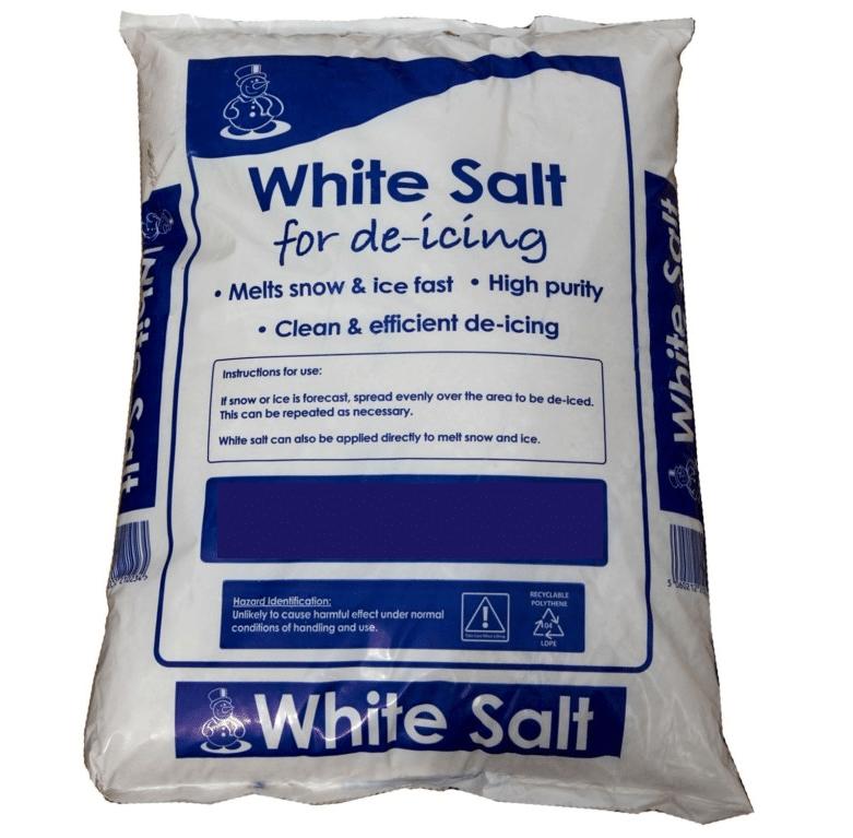 White Salt De Icing